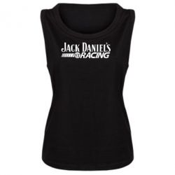 Женская майка Jack Daniel's Racing - FatLine