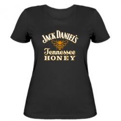 Женская футболка Jack Daniel's Tennessee Honey - FatLine