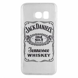 Чохол для Samsung S6 EDGE Jack daniel's Whiskey