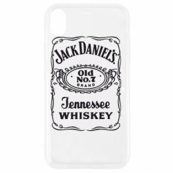Чохол для iPhone XR Jack daniel's Whiskey