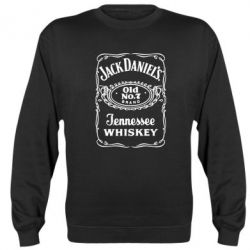 Реглан (свитшот) Jack Daniel's Whiskey - FatLine