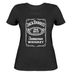 Женская футболка Jack Daniel's Whiskey - FatLine