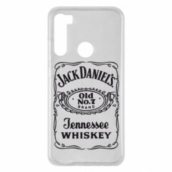 Чехол для Xiaomi Redmi Note 8 Jack Daniel's Whiskey