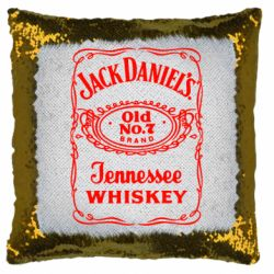 Подушка-хамелеон Jack daniel's Whiskey