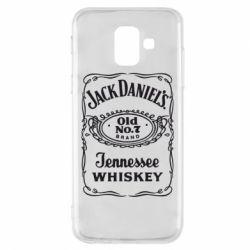 Чохол для Samsung A6 2018 Jack daniel's Whiskey
