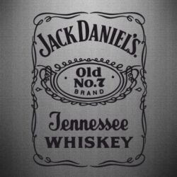 Наклейка Jack Daniel's Whiskey - FatLine