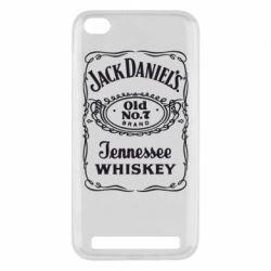 Чехол для Xiaomi Redmi 5a Jack Daniel's Whiskey
