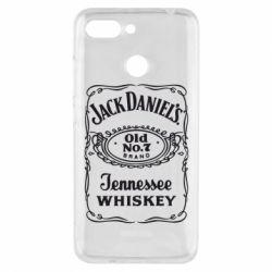 Чехол для Xiaomi Redmi 6 Jack Daniel's Whiskey
