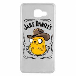 Чохол для Samsung A7 2016 Jack Daniels Adventure Time