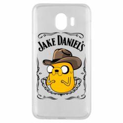 Чохол для Samsung J4 Jack Daniels Adventure Time