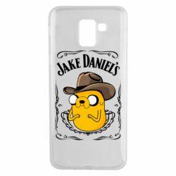 Чохол для Samsung J6 Jack Daniels Adventure Time