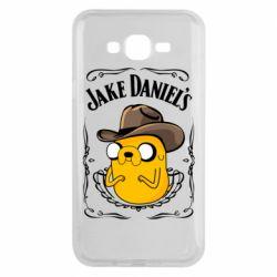 Чохол для Samsung J7 2015 Jack Daniels Adventure Time