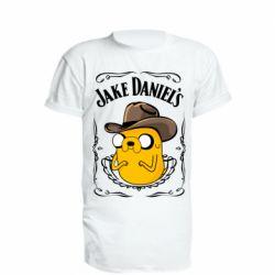 Подовжена футболка Jack Daniels Adventure Time