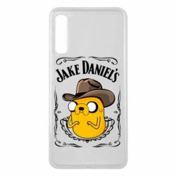 Чохол для Samsung A7 2018 Jack Daniels Adventure Time