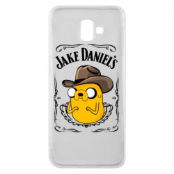 Чохол для Samsung J6 Plus 2018 Jack Daniels Adventure Time