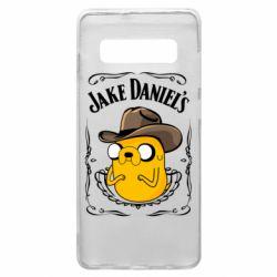 Чохол для Samsung S10+ Jack Daniels Adventure Time