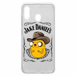 Чохол для Samsung A30 Jack Daniels Adventure Time
