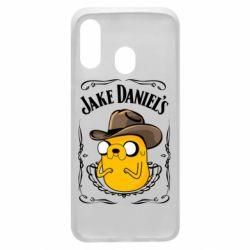 Чохол для Samsung A40 Jack Daniels Adventure Time