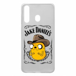 Чохол для Samsung A60 Jack Daniels Adventure Time