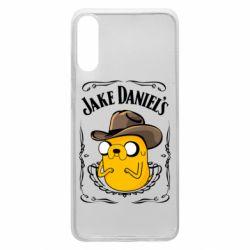 Чохол для Samsung A70 Jack Daniels Adventure Time