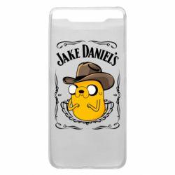 Чохол для Samsung A80 Jack Daniels Adventure Time