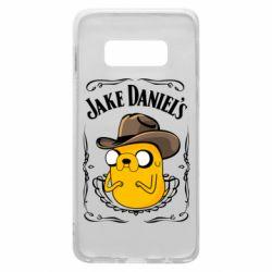 Чохол для Samsung S10e Jack Daniels Adventure Time
