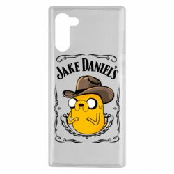 Чохол для Samsung Note 10 Jack Daniels Adventure Time