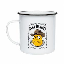 Кружка емальована Jack Daniels Adventure Time