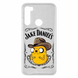 Чохол для Xiaomi Redmi Note 8 Jack Daniels Adventure Time