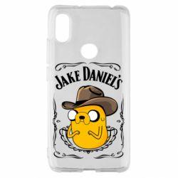 Чохол для Xiaomi Redmi S2 Jack Daniels Adventure Time