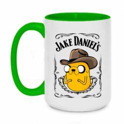 Кружка двоколірна 420ml Jack Daniels Adventure Time