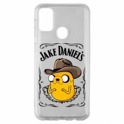 Чохол для Samsung M30s Jack Daniels Adventure Time