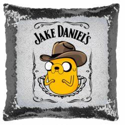Подушка-хамелеон Jack Daniels Adventure Time