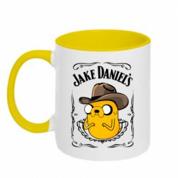 Кружка двоколірна 320ml Jack Daniels Adventure Time