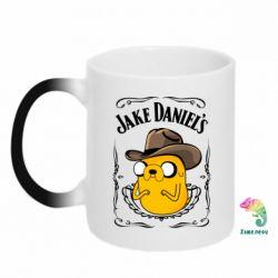 Кружка-хамелеон Jack Daniels Adventure Time