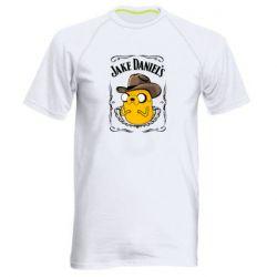 Чоловіча спортивна футболка Jack Daniels Adventure Time
