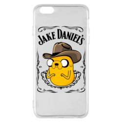 Чохол для iPhone 6 Plus/6S Plus Jack Daniels Adventure Time