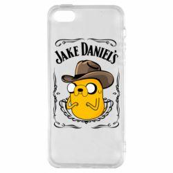 Чохол для iphone 5/5S/SE Jack Daniels Adventure Time