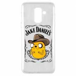 Чохол для Samsung A6+ 2018 Jack Daniels Adventure Time