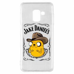Чохол для Samsung A8 2018 Jack Daniels Adventure Time
