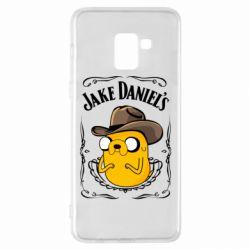 Чохол для Samsung A8+ 2018 Jack Daniels Adventure Time