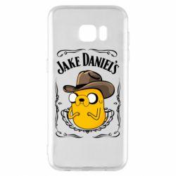 Чохол для Samsung S7 EDGE Jack Daniels Adventure Time