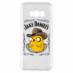 Чохол для Samsung S8 Jack Daniels Adventure Time