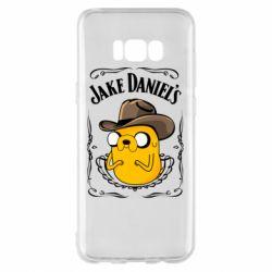Чохол для Samsung S8+ Jack Daniels Adventure Time