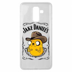Чохол для Samsung J8 2018 Jack Daniels Adventure Time