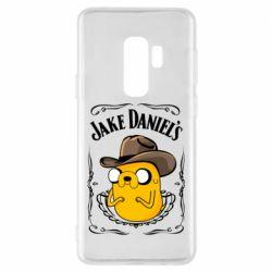 Чохол для Samsung S9+ Jack Daniels Adventure Time
