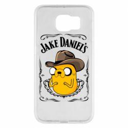 Чохол для Samsung S6 Jack Daniels Adventure Time