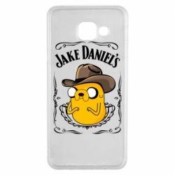 Чохол для Samsung A3 2016 Jack Daniels Adventure Time