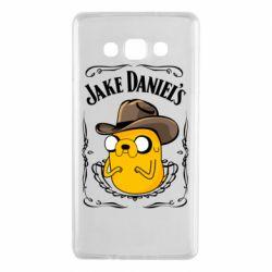 Чохол для Samsung A7 2015 Jack Daniels Adventure Time