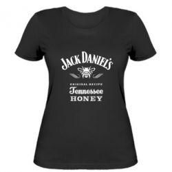 Женская футболка Jack Daniels Tennessee - FatLine